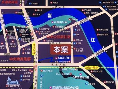 龙岗新城交通图