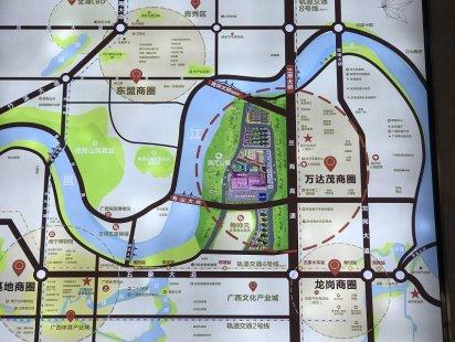 万达茂天樾交通图
