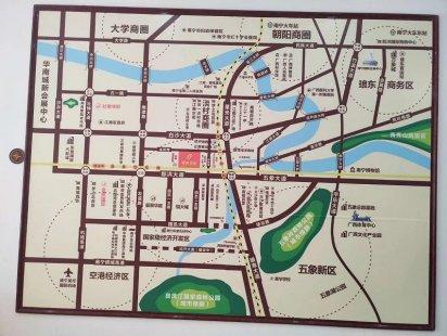 福美国际交通图