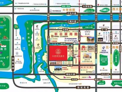 君悦喜府交通图 (1)