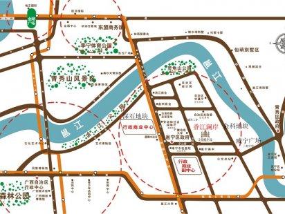 香江澜岸交通图
