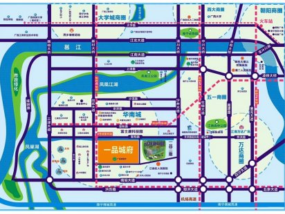 一品城府交通图