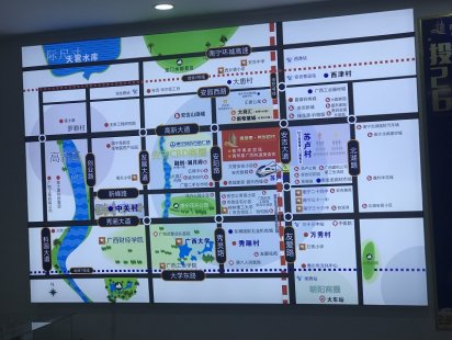 青苹果公寓交通图