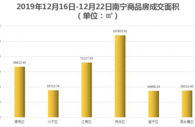 南宁邕宁、西乡塘成交上升幅度大 但总体小幅度下降