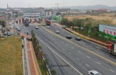 南宁昆仑大道改扩建完工开放通行 周边楼盘出行更便利了