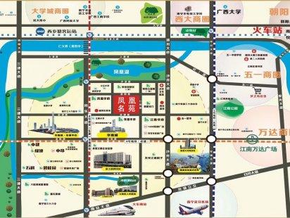 凤凰名苑交通图