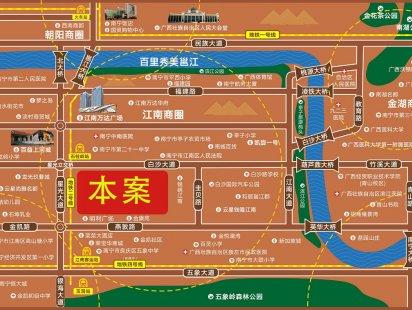 星光芳华园交通图