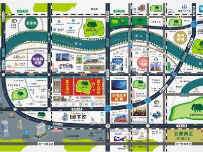 富士华府交通图