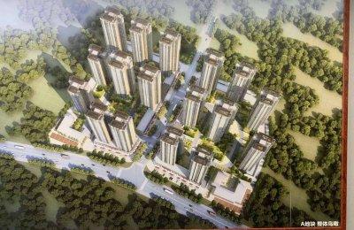 南宁市龙岗核心区中式的园林豪宅—翡翠都会