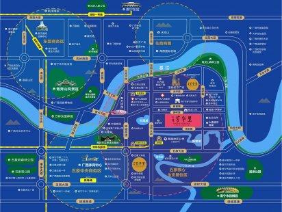 江湾芳华里交通图
