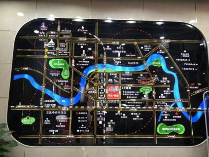 传胜福域交通图