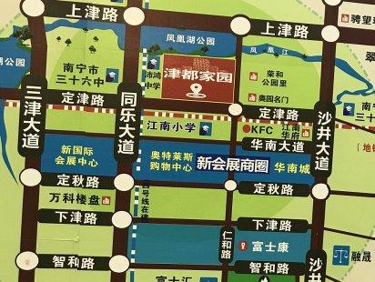 津都家园交通图