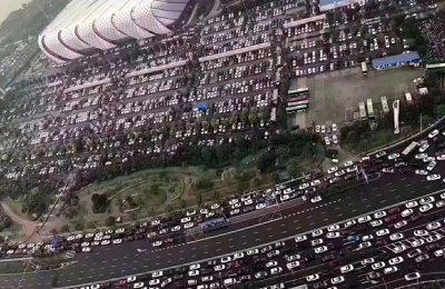 看看这车流量,投资五象新区传胜福域是非常值得拥有