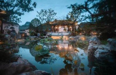 立体山水画!南宁哪一座中式园林能让你梦回江南?